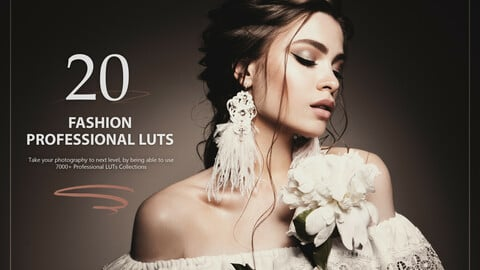 20 Fashion LUTs Pack