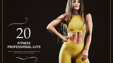20 Fitness LUTs Pack