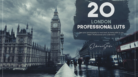 20 London LUTs Pack