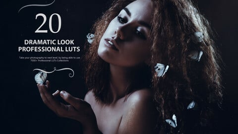 21 Dramatic Look LUTs Pack
