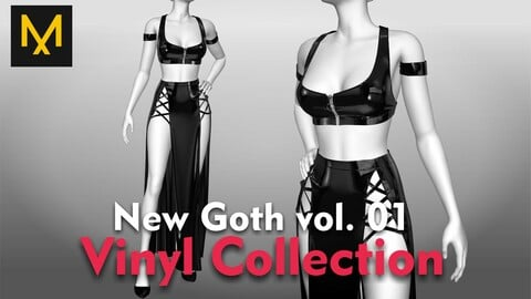 New Goth Outfit vol.01 - Vinyl Collecion
