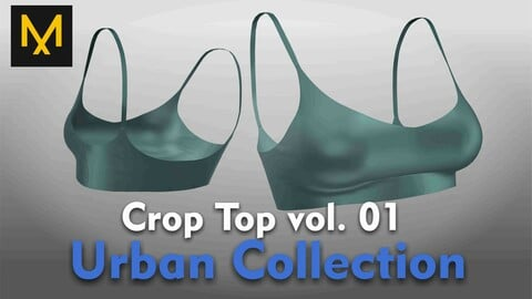 Crop Top vol.01 - Urban Collection