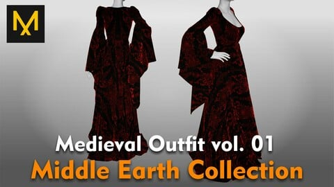 Medieval Outfit vol.01 - Middle Earth Collection