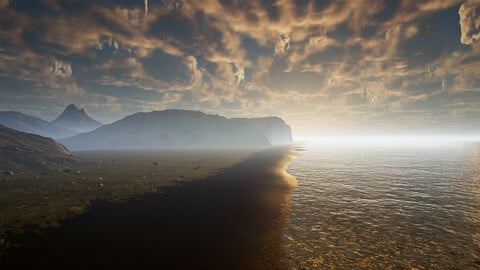 Iceland Environment (UE4)