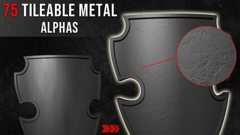 75 Tileable Metal Alphas  Tileable And Seamless