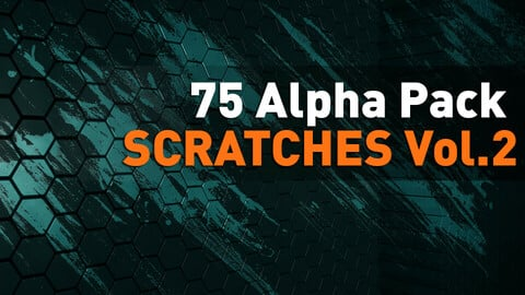 🟥 75 Alpha Pack - Scratches vol.2