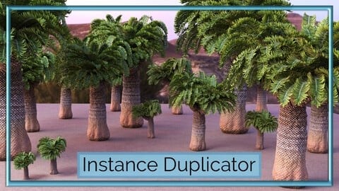 Instance Duplicator - Autodesk Maya