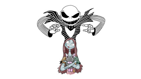 The Nightmare Before Christmas Fan Art  (profile image)