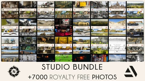 STUDIO BUNDLE: All of my Reference Photos + Free updates (Save 310$)