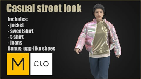 Casual street outfit MD CLO