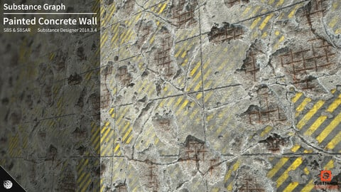 Concrete Wall Substance Graph