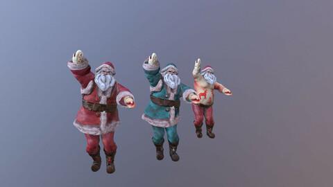Santa Claus Happy