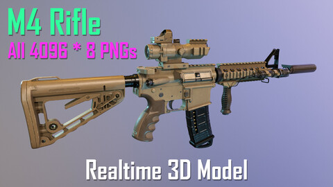 M4 Rifle - REALTIME