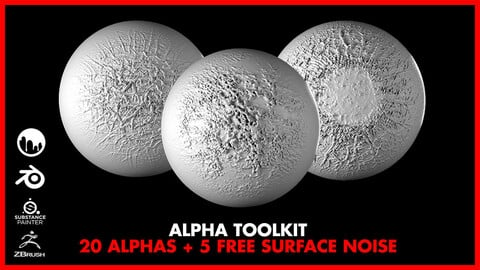 Alien Alpha Toolkit Vol.1