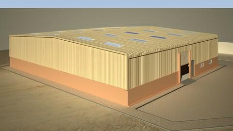 Warehouse 3D Model