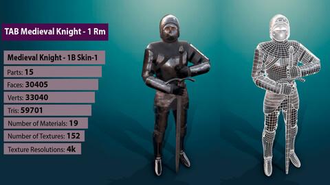 TAB Medieval Knight - 1Rm B - Skin1