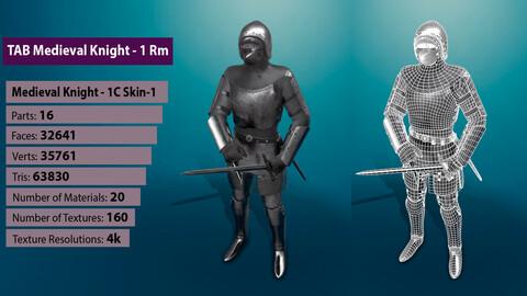 TAB Medieval Knight - 1Rm C - Skin1