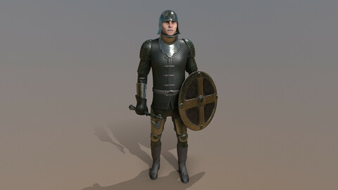 TAB Medieval Knight - 7A - Skin3