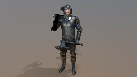 TAB Medieval Knight - 7B - Skin1