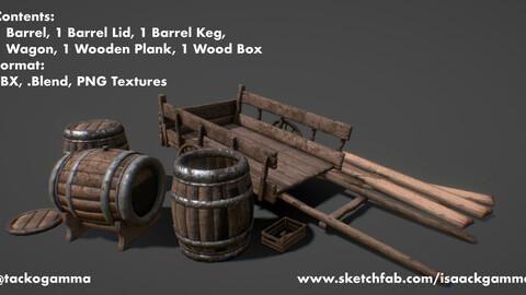 Wooden RPG Asset Pack