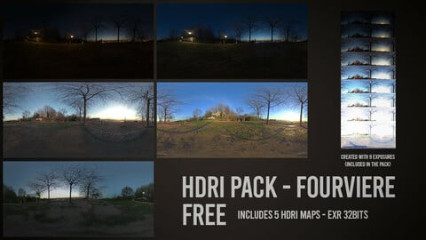 FREE HDRI Pack - Fourviere (city of Lyon)