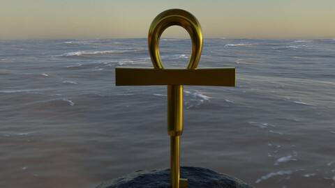 Millenium Key + Sea (blend file)