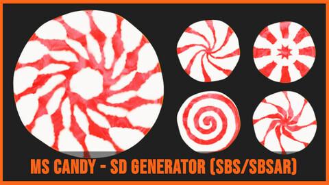 Stylized Candy Generator