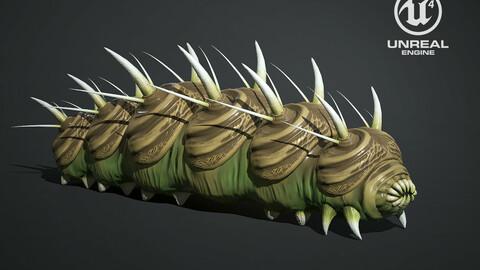Caterpillar Creature