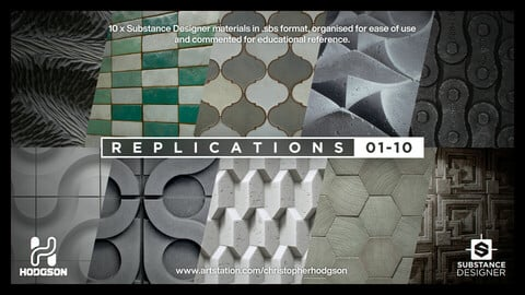 Chris Hodgson's Substance Replications 1-10