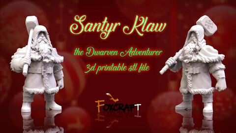 Santyr Klaw,  3d printable stl files