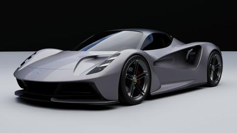 LOTUS EVIJA -a limited production electric sport car