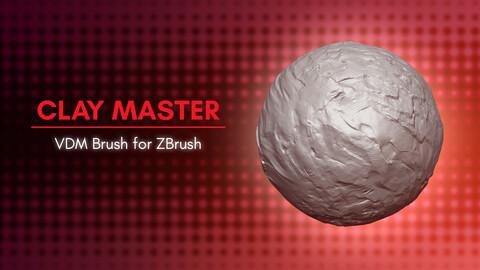 [VDM Brush] Clay Details Brush for Zbrush 2021