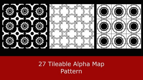 27 seamless Alpha Map