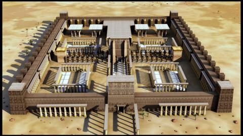 Egyptian Pharonic Temple Exterior Main