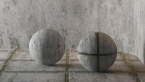Hemase Mat 04 | Concrete | 2 Mats | Sbsar