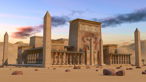 Egyptian Pharonic Temple