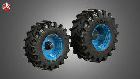 Tractor Tires and Rims - T01