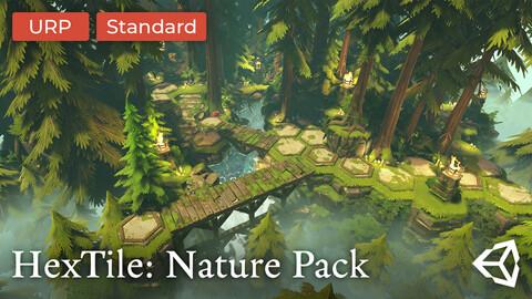 HexTile: Nature Pack - Unity Asset Pack | URP | Standard