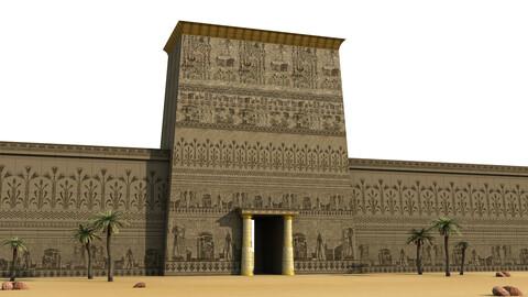 Egyptian Pharonic Sculpture Wall EPSW-02