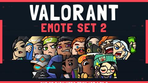 VALORANT Emote Set 2