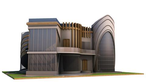 New Modern Villa - 3Ds Files - 2Ds Plans