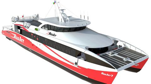 Red Jet 7 Passenger ferry