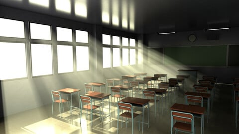 Japanese style classroom