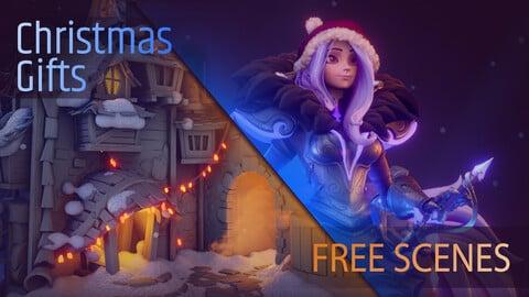 Free Fantasy Scenes (VerikArt)