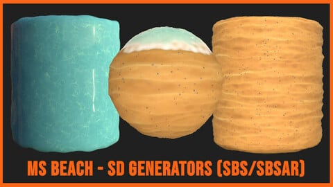 Stylized Beach/Sand/Water Generator