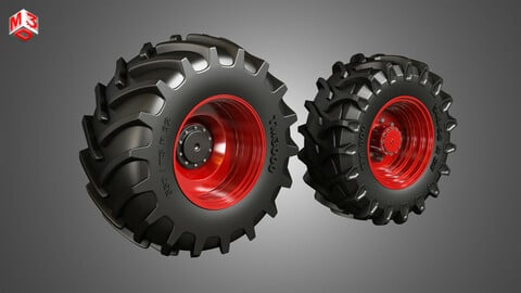 Tractor Tires and Rims - T02