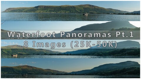 FREE Waterfoot Panaoramas Photopack - 8 Images (25k - 50k) - Part 01