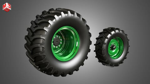 Tractor Tires and Rims - T03