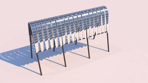 Shaded Solar Panel