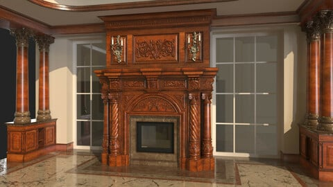 Classic Fireplace 1